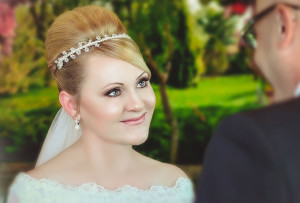 Wedding Hair by Stacey