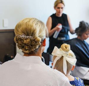 Adelaide mobile wedding hair