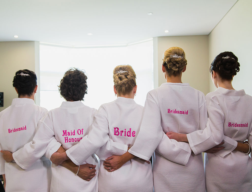 Bridesmaids hair upstyles