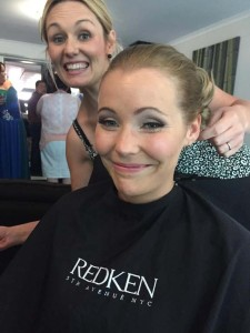 Best wedding day hair stylist in Adelaide