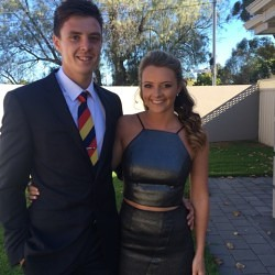 Hair by Stacey – Jess at the Adelaide Crows Season Launch