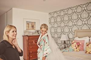Brigitte's Wedding - Hair by Stacey