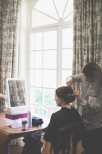 Classic Wedding Hair Styling